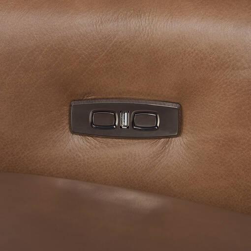 Encore Leather Recliner -Mira Rum