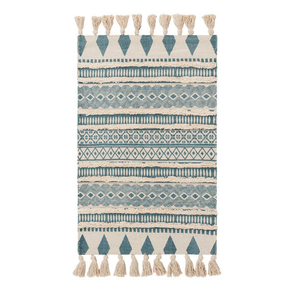 Zoa Accent Rug - Teal