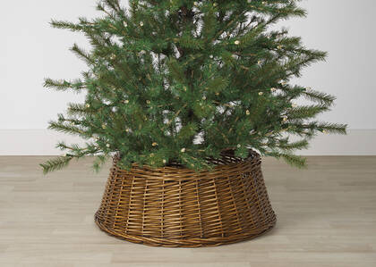 Cache-pied de sapin Willow naturel