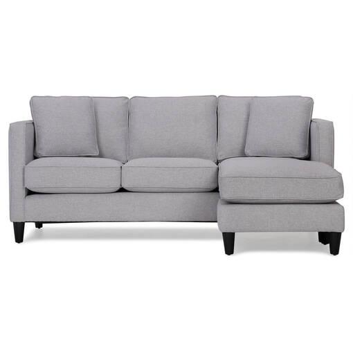 Canapé d'ang. Lure -Element argenture