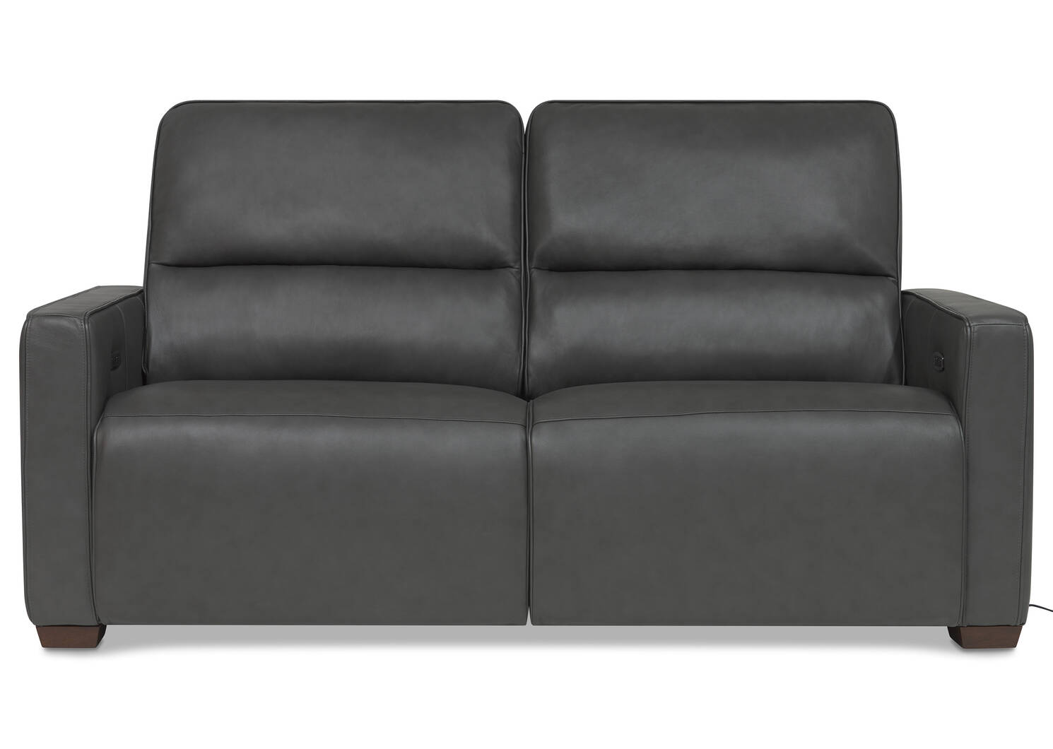 Reese Leather Reclining Sofa