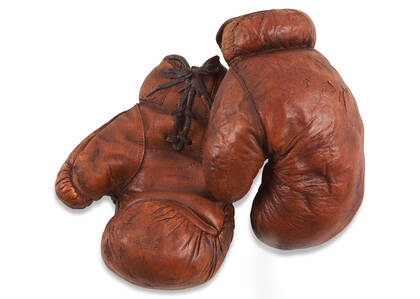 Tyson Boxing Gloves Decor