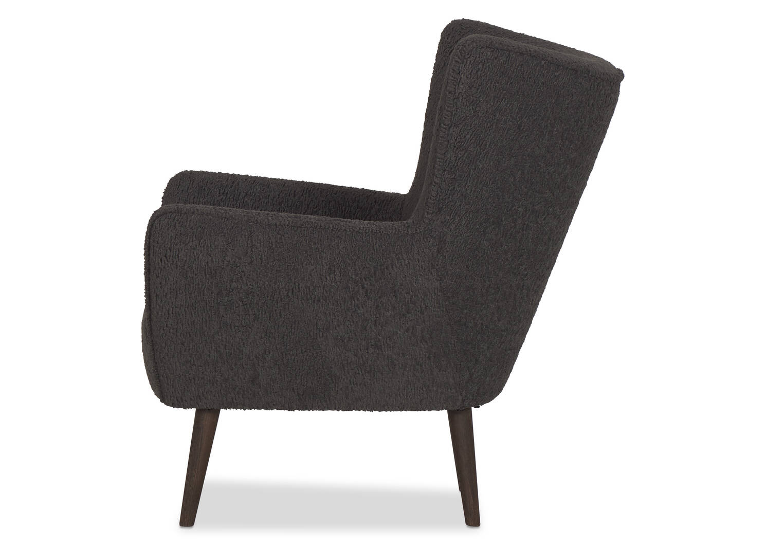 Dolly Armchair -Woolly Coal