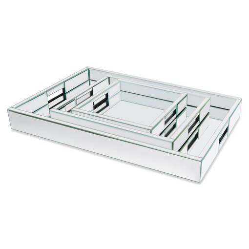 Charlize Mirror Trays