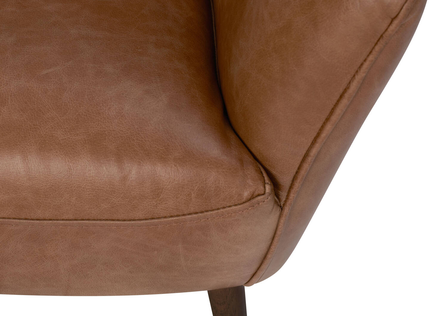 Diablo Leather Armchair -Harrod Tan