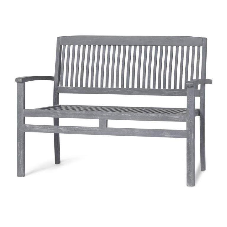 Sumatra Garden Bench -Teak Grey