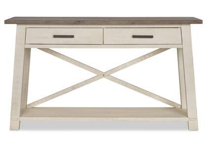Table console Sechelt -écume