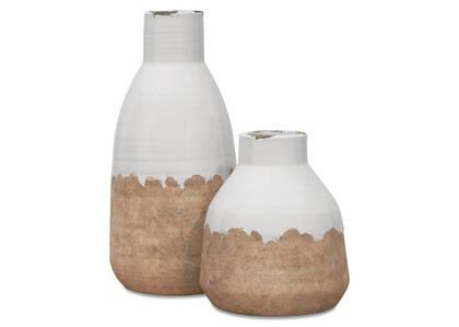 Vase Vanna - lait/naturel
