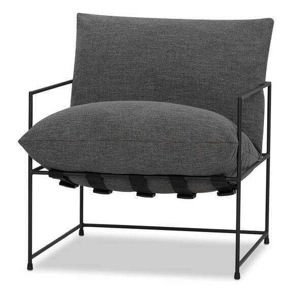 "Mondo Chair 28"" -Uno Pewter"