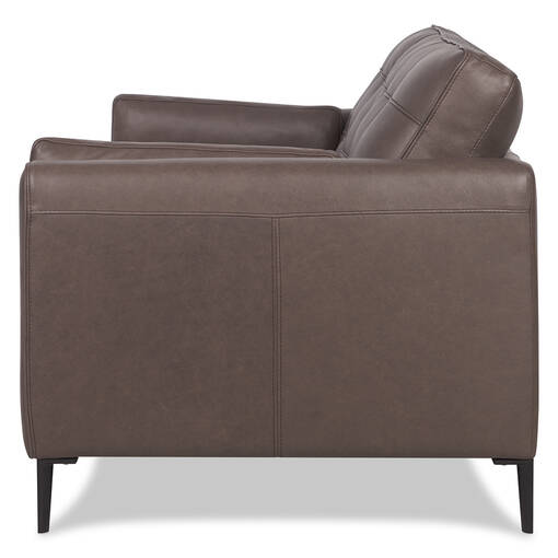 Graham Leather Relaxer Sofa -Ashby Stout