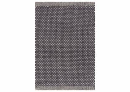 Dorset Accent Rug - Dark Grey/Natural