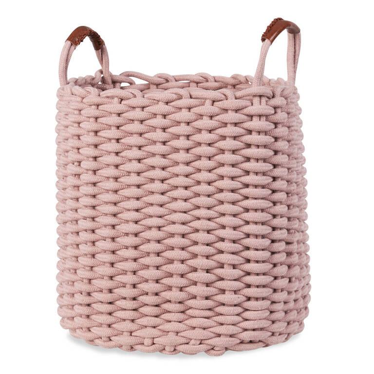 Corde Laundry Basket Ballet Pink