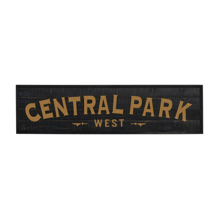 Central Park Wall Plaque