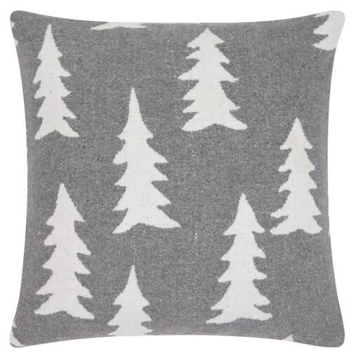 Coussin arbre McDougall 20x20 caill./iv