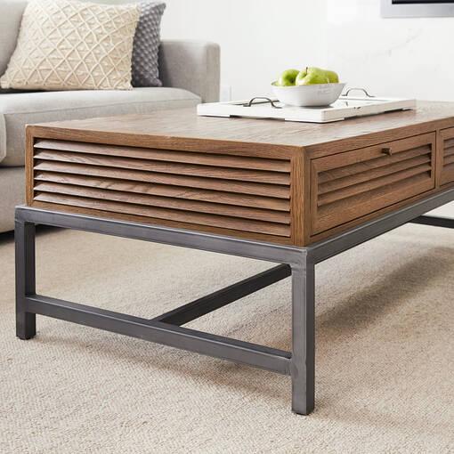 Augustine Coffee Table -Marcos Oak