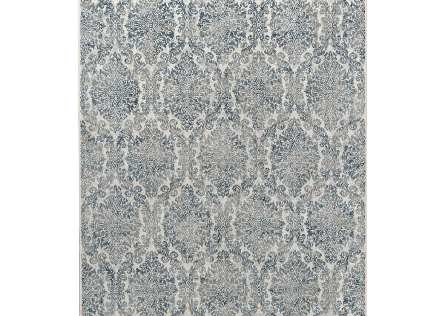 Kassia Rug 63x90 Blue/Ivory