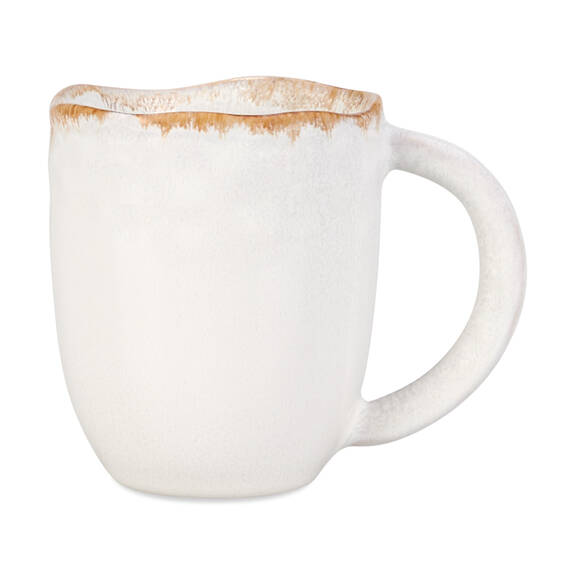 Tasse Crofton blanc antique