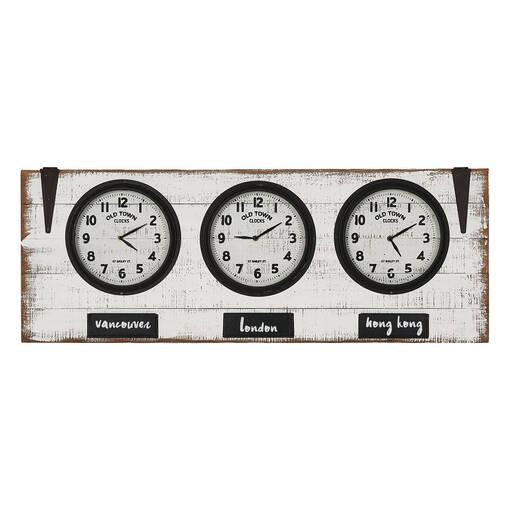 Zones Wall Clock