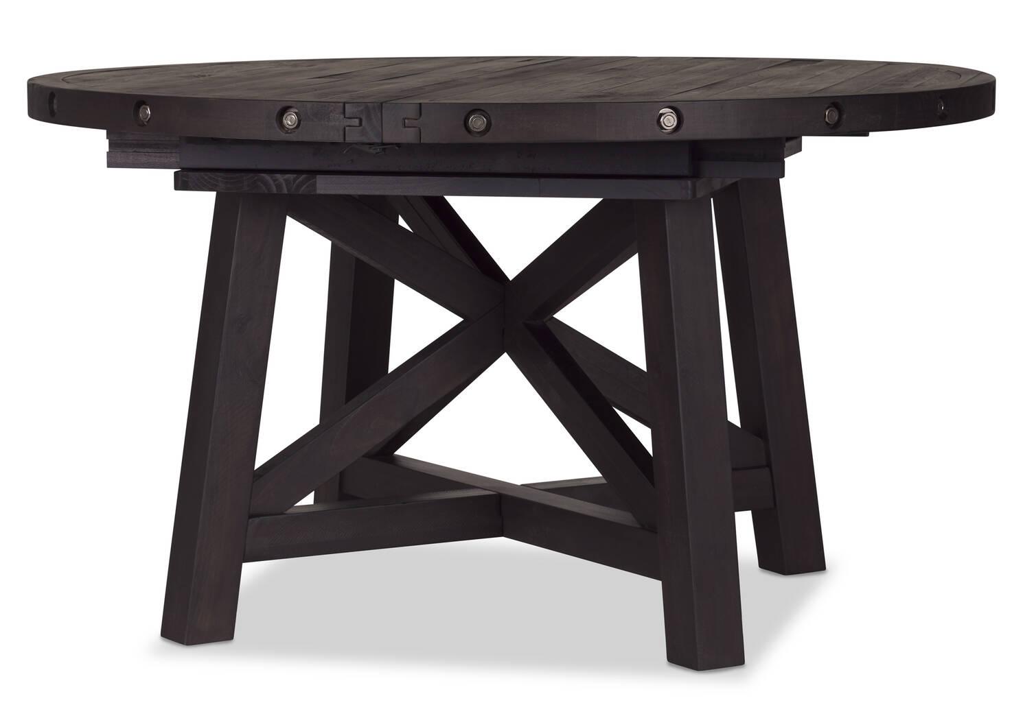 Table ronde à rallonge Ironside -café