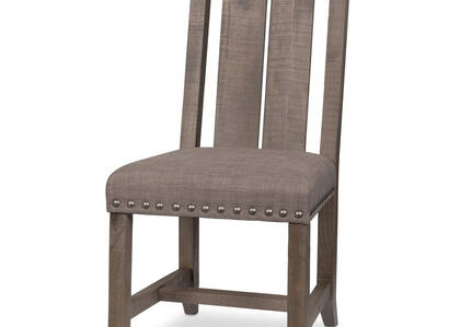 Ironside Dining Chair -Rustic Grey