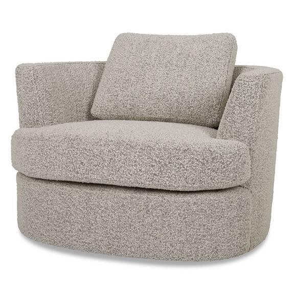 Beverly Swivel Chair -Amalie Pepper