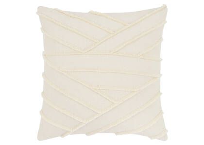 Coussin Odessa 20x20 ivoire