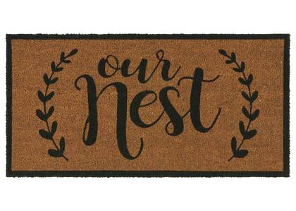 Our Nest Doormat Natural