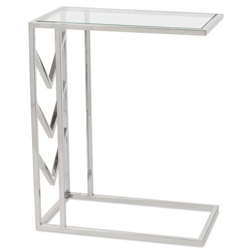 Table de bout Niagara -chrome