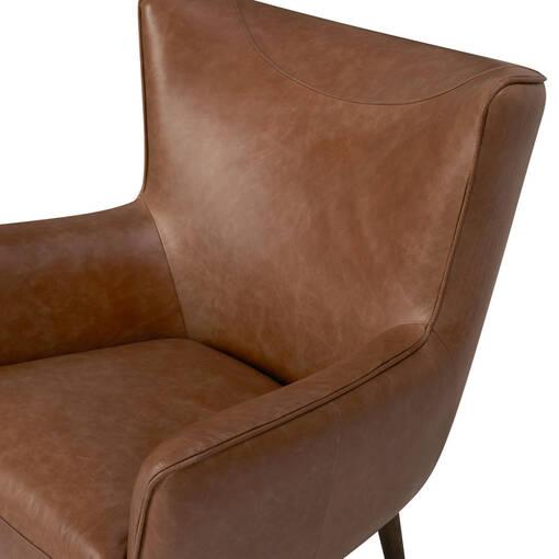 Diablo Leather Armchair -Harrod Tan