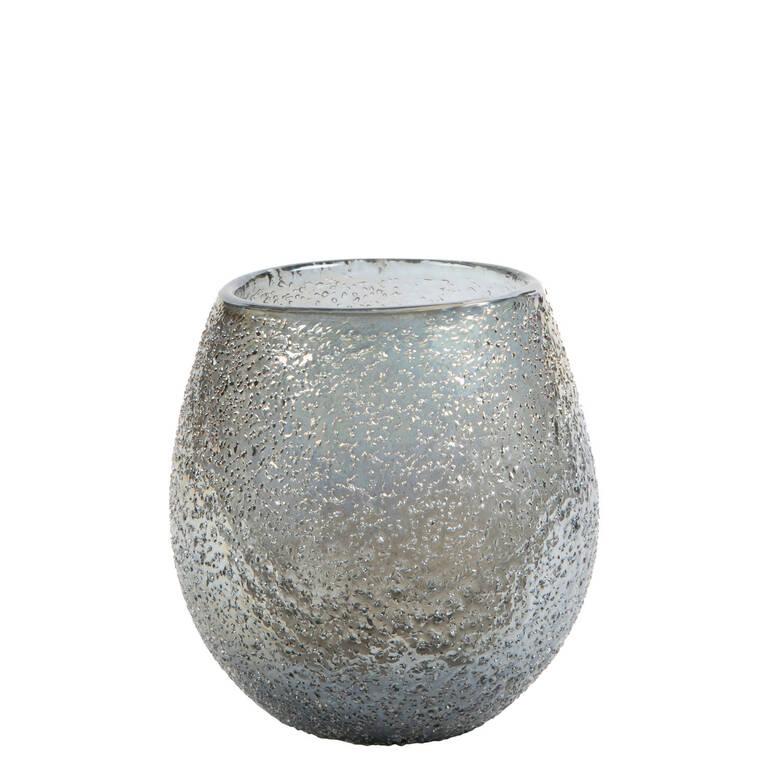 Petit vase Tayla argenté