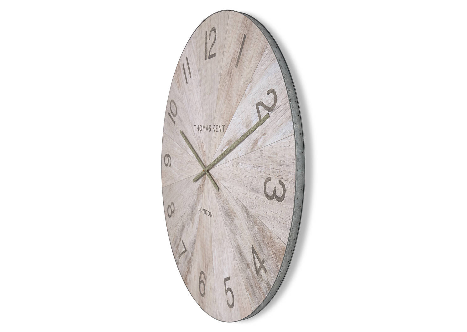 Mendel Wall Clock Large Natural