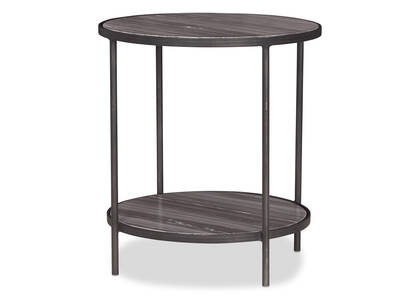 Chaplin Side Table -Leigh Marble