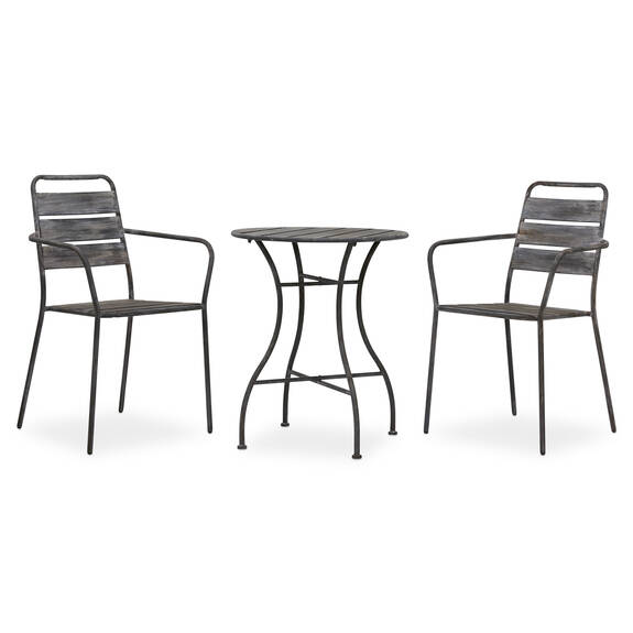 Cargo 3PC Patio Set -Steel