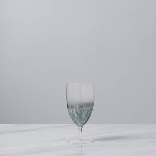 Shimmer Glassware - Silver Grey