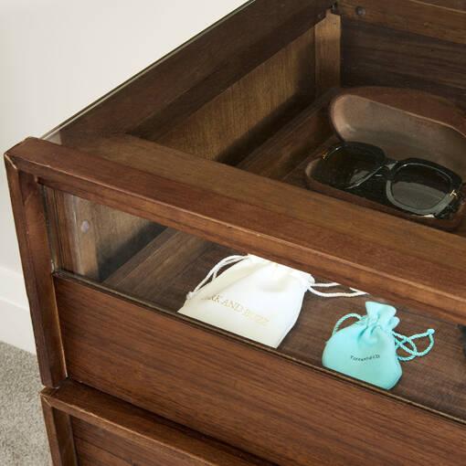 Tanner 6 Drawer Dresser -Archie Walnut