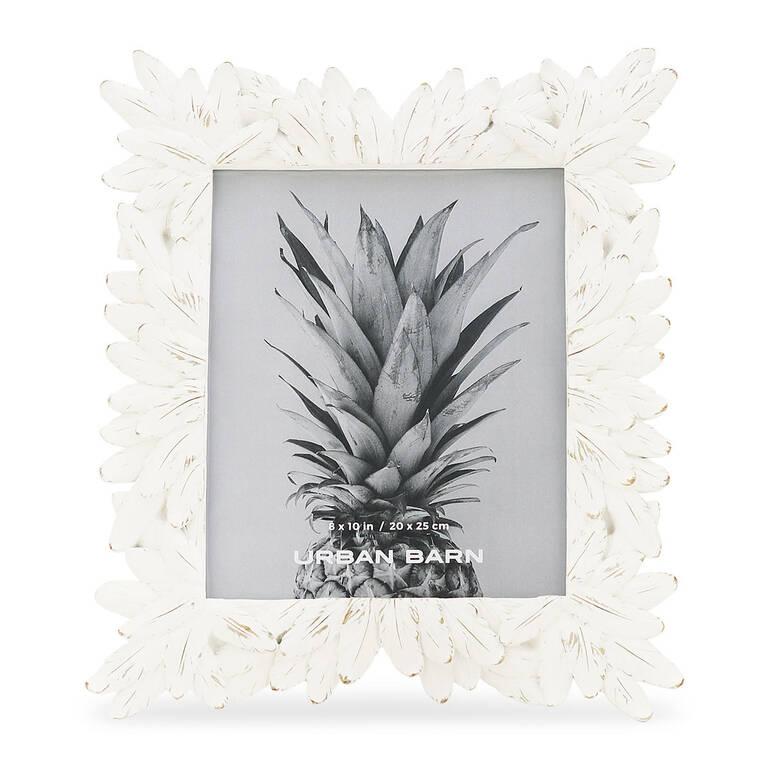 Hojas Frame 8x10 White
