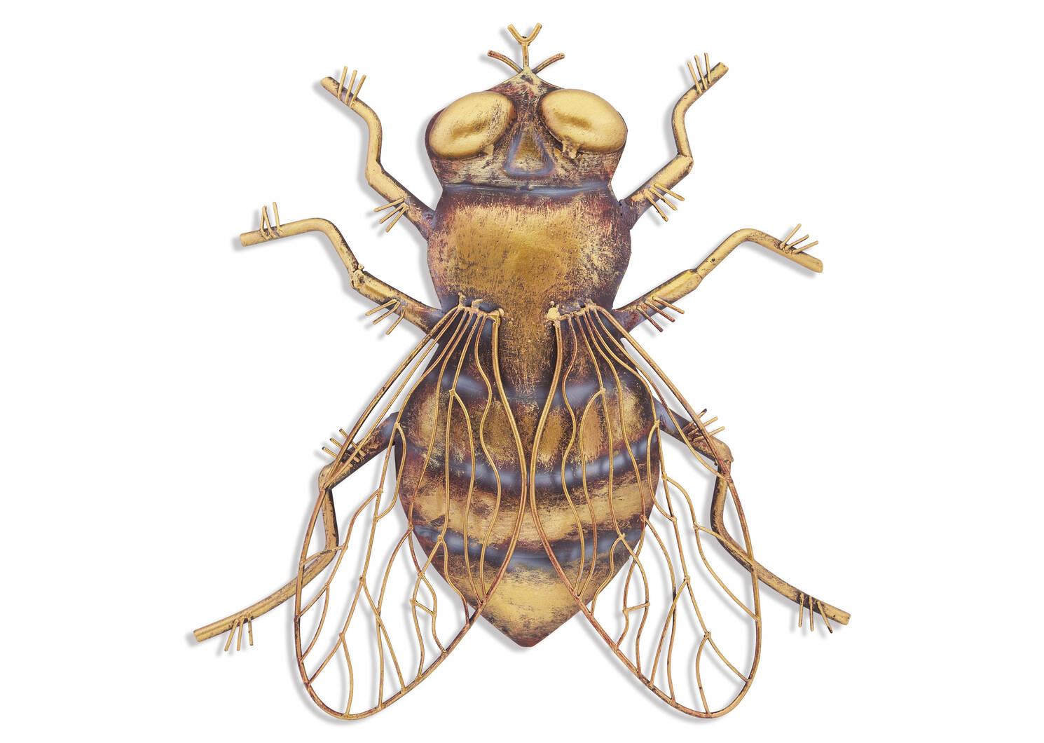 Déco murale abeille perchée Bernadine