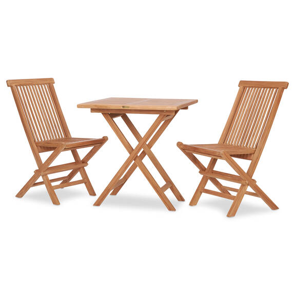 Ens.patio Galiano de 3 pcs -teck naturel
