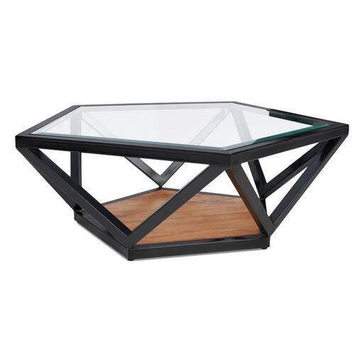 Pentagon Coffee Table -Teak