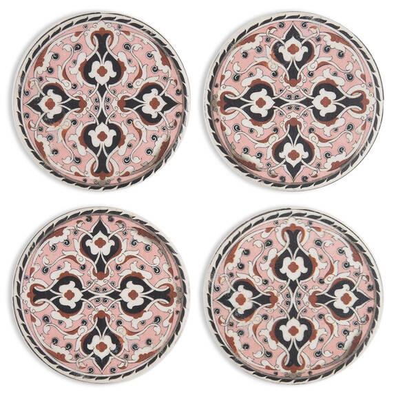 Tangalle Coaster Set Pink
