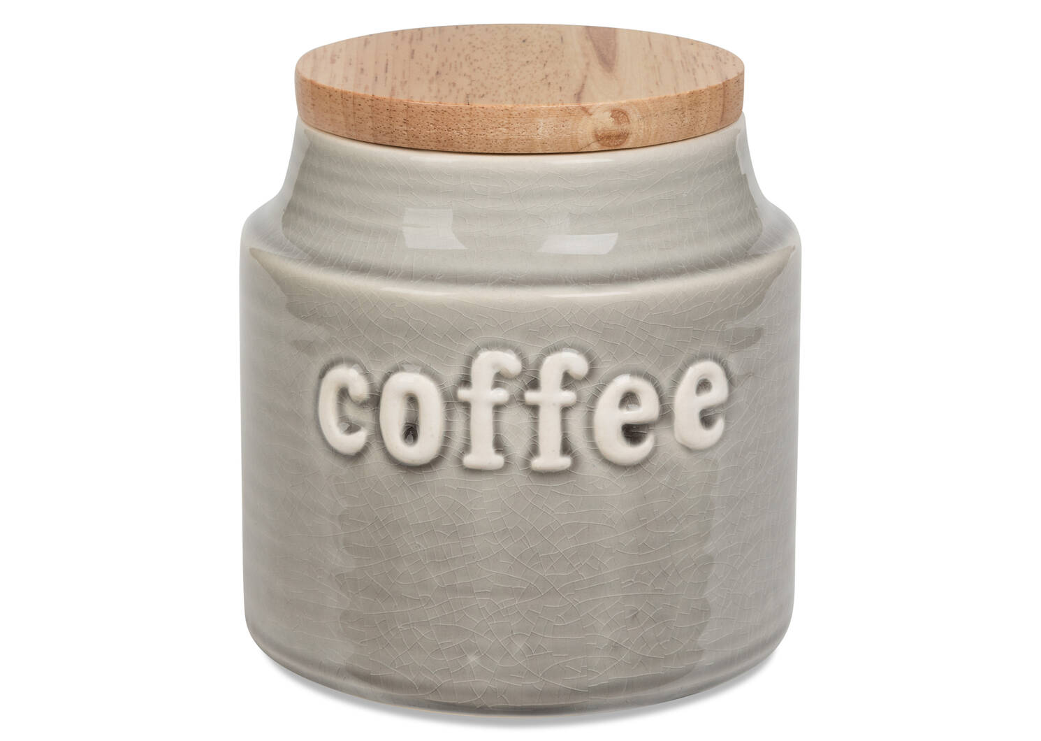 Lilian Coffee Canister Grey
