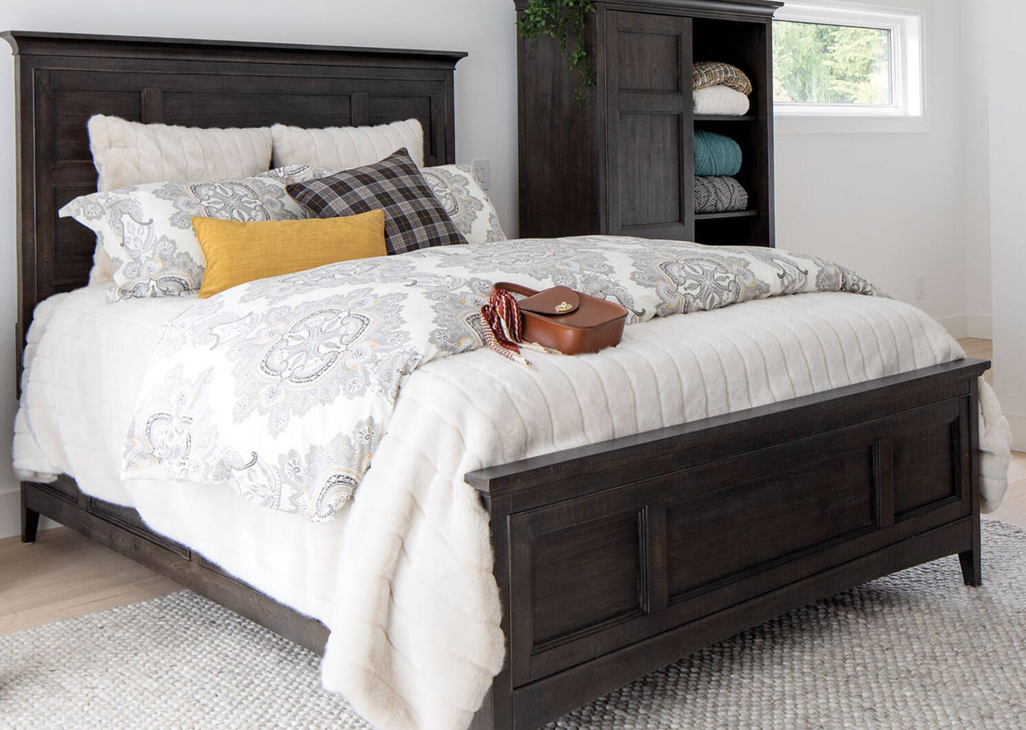 Parker Storage Bed -Heron Coal