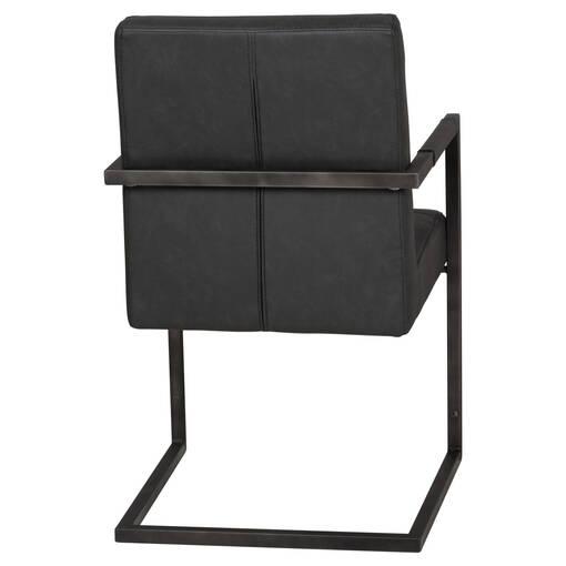 Chaise à accoudoirs Barkley -Scott gris