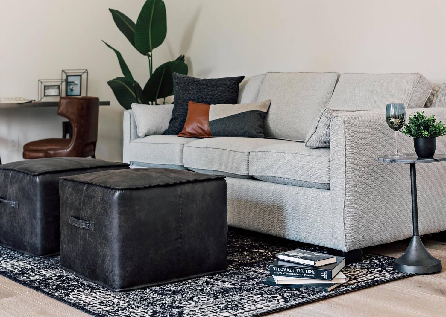 Azure Custom Sofa w/ Queen Bed