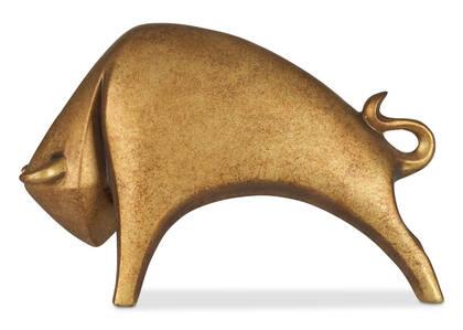 Statuette de taureau Neysa