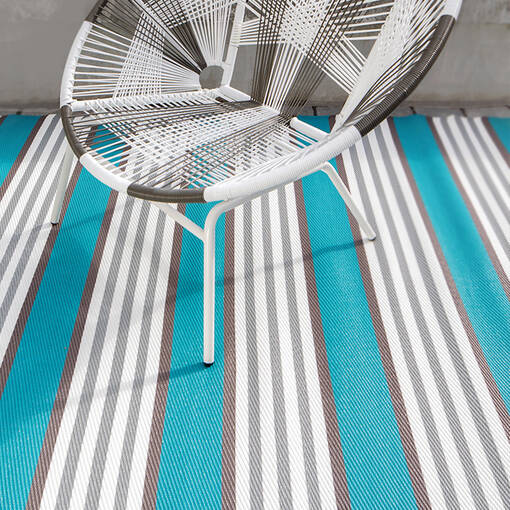 Bali Outdoor Rug 96x120 Stripe Harbou