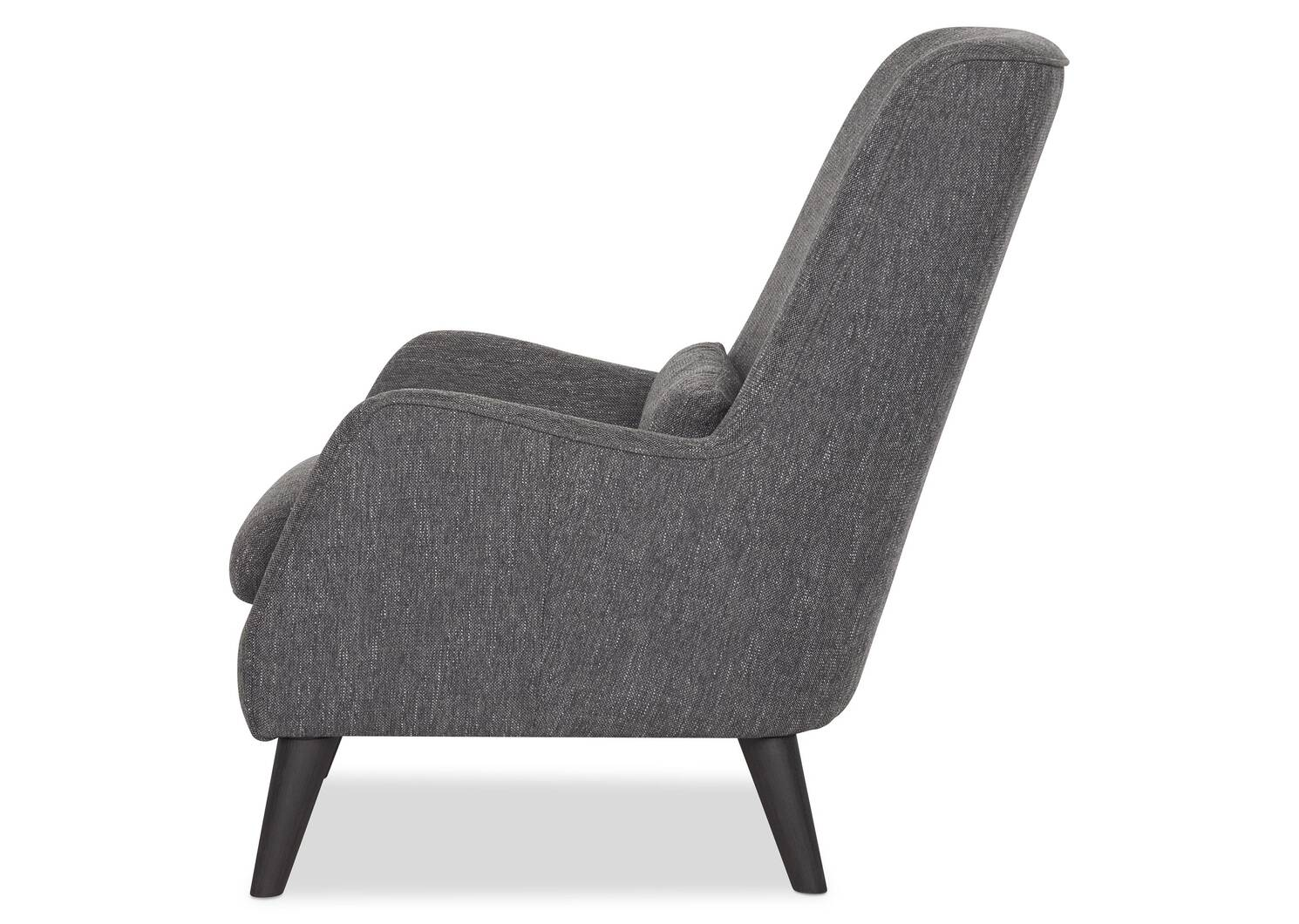 Fauteuil Largo -Avery graphite