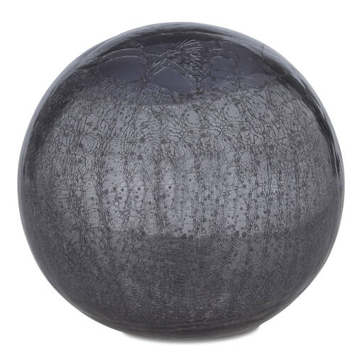 Boules décoratives Donatella -charbon