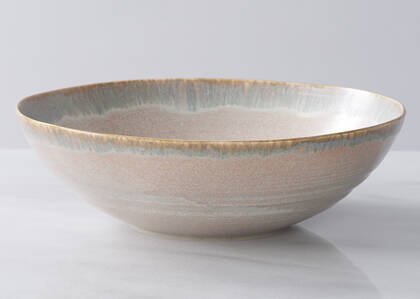 Hornby Serving Bowl Clay/Grey