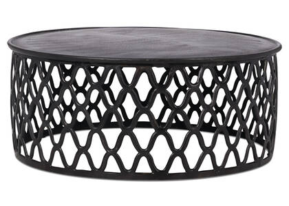 Ashbury Coffee Table -Aged Bronze